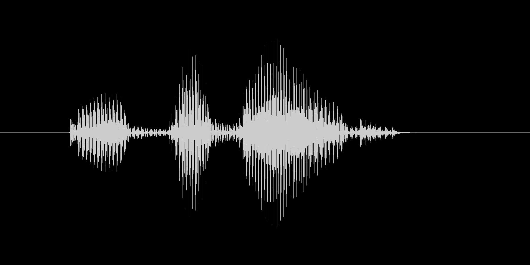 デッドボールの未再生の波形