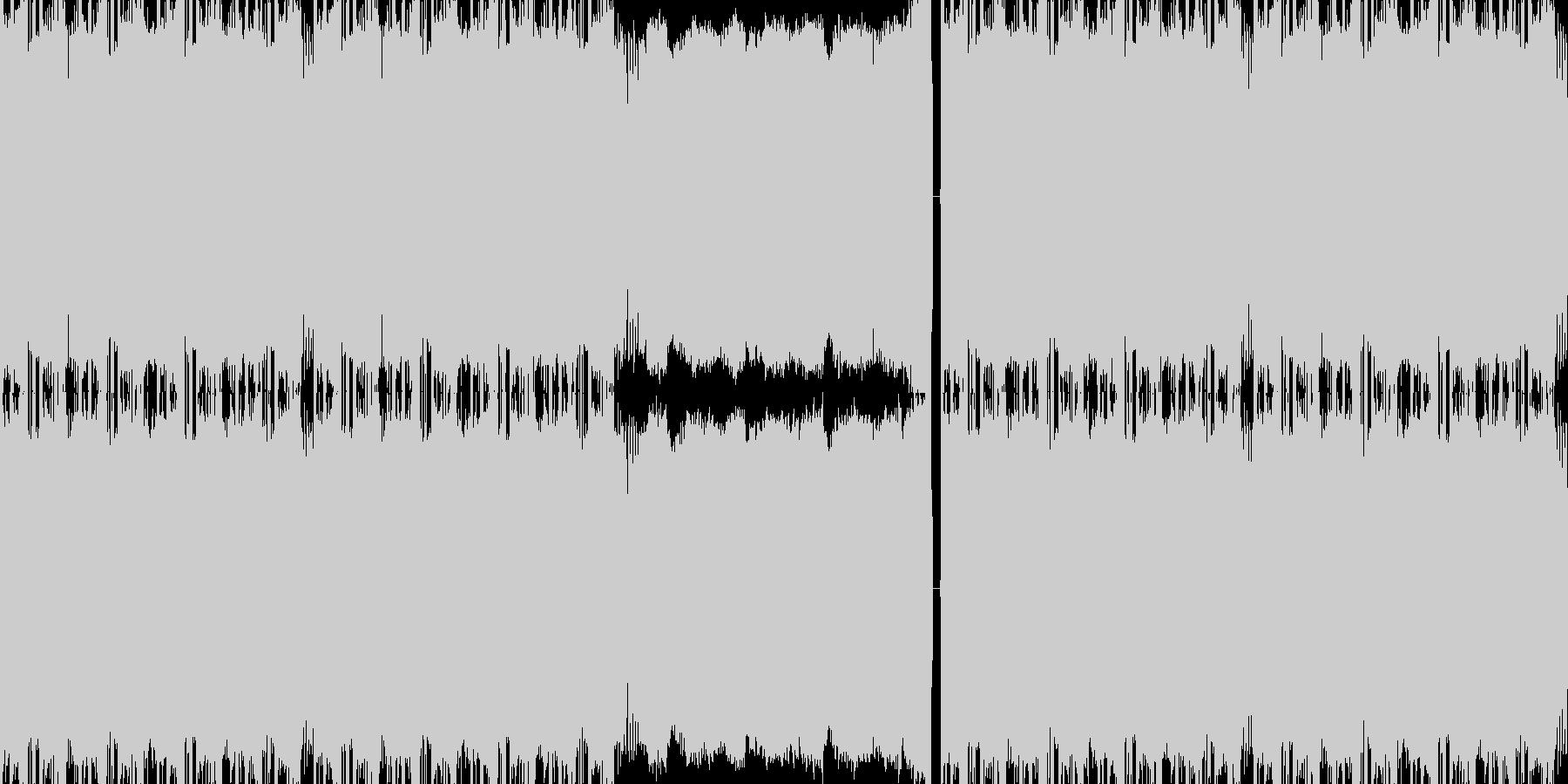 【★クラブサウンドノリノリブロステップ】の未再生の波形