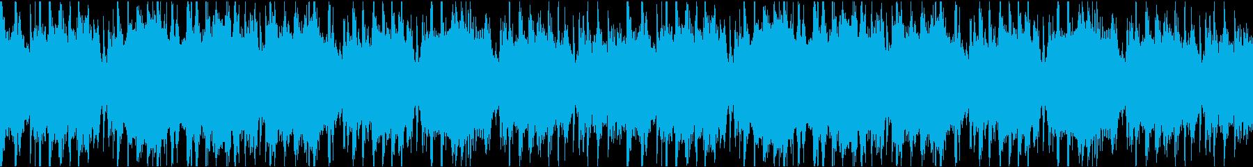 【ループ可】爽やかな雰囲気のメニュー曲の再生済みの波形