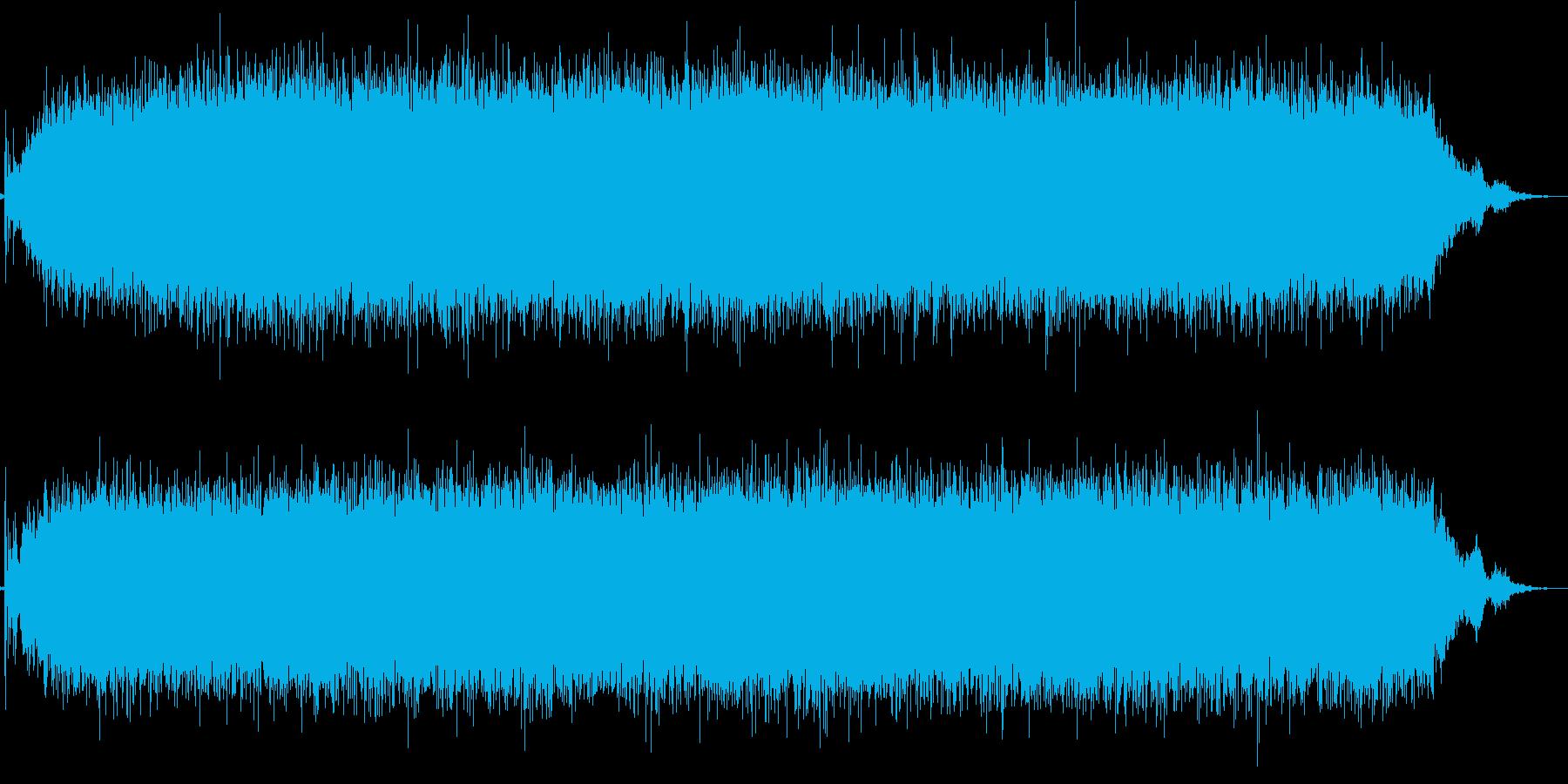 ドライヤーの再生済みの波形