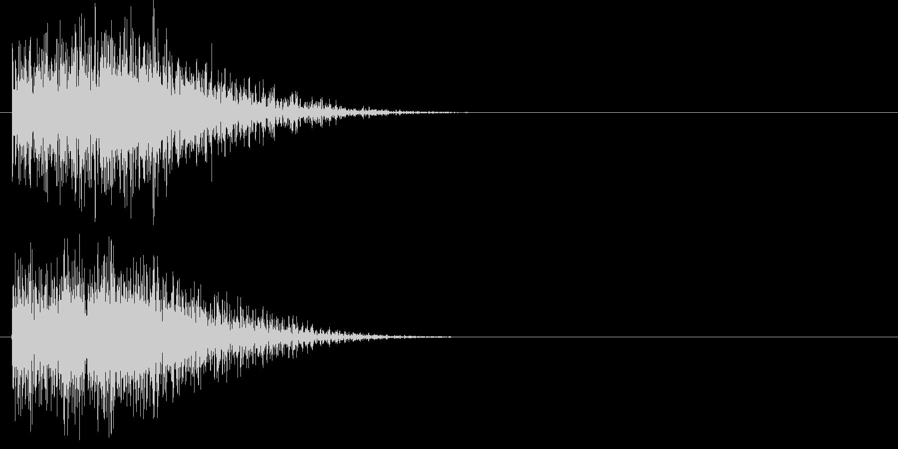 汎用 ヒット系03(中) 出題 フリップの未再生の波形