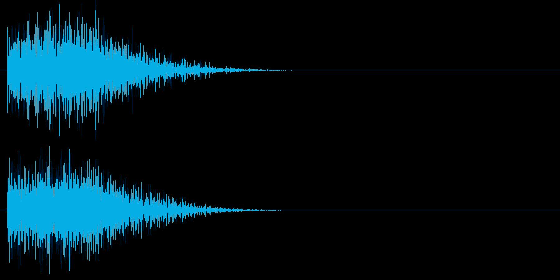 汎用 ヒット系03(中) 出題 フリップの再生済みの波形