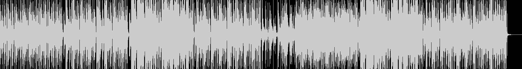 ピアノとエレキと笛のインフォグラフィックの未再生の波形