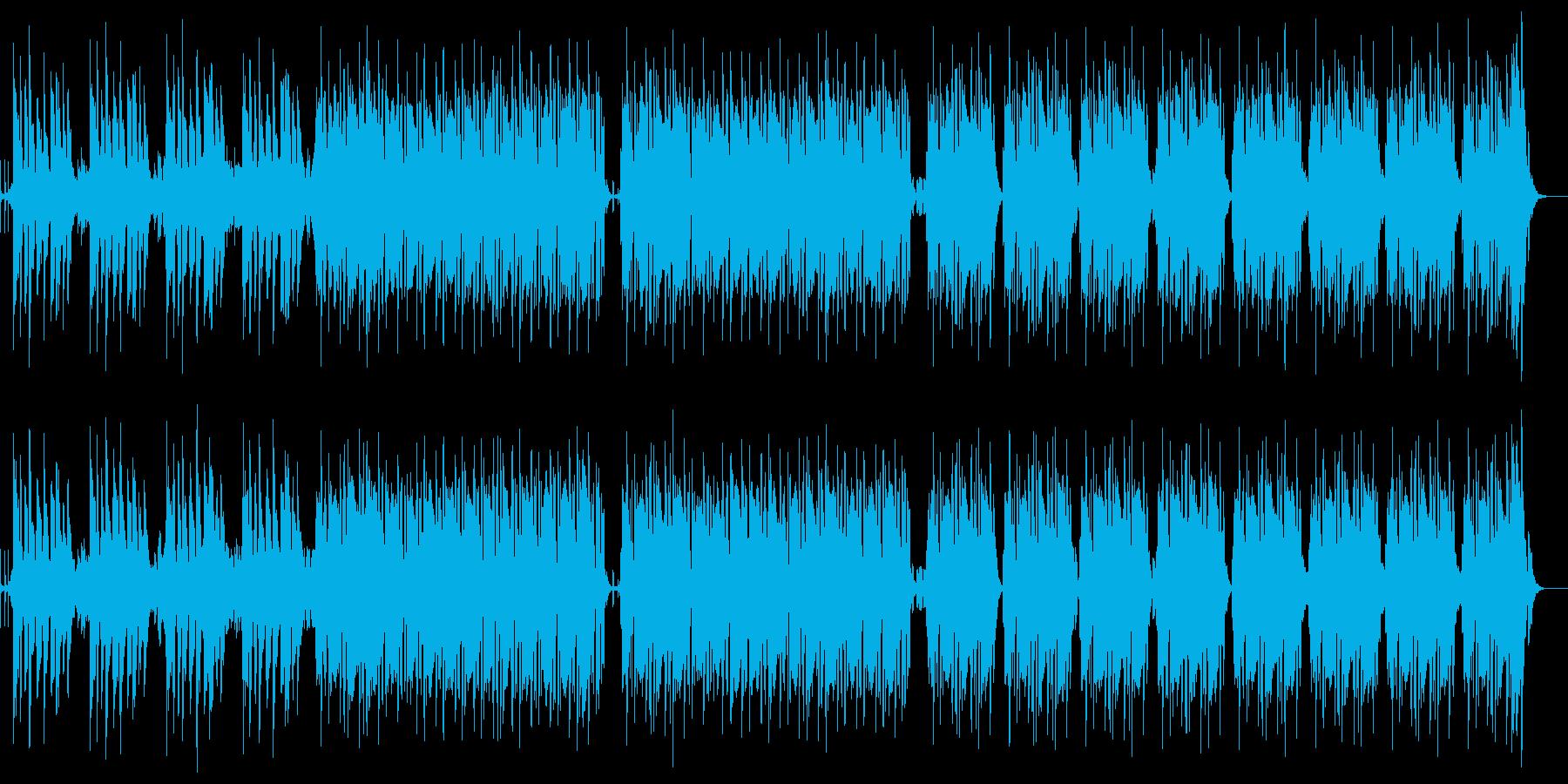 お洒落ジャズフュージョンハネ系リズミカルの再生済みの波形