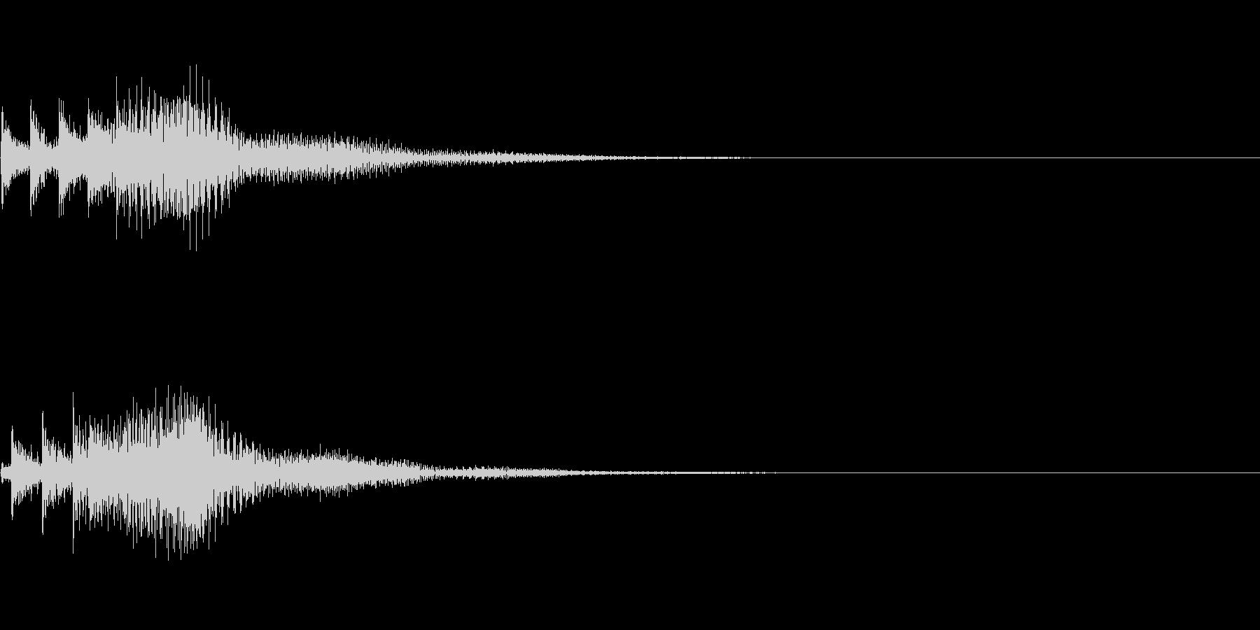 システム音16_シンセDPの未再生の波形