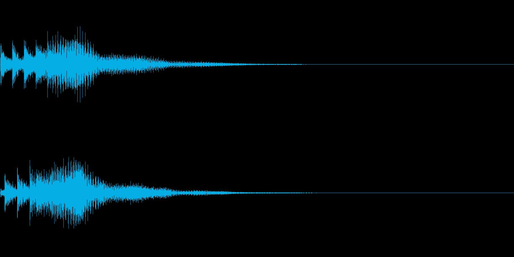 システム音16_シンセDPの再生済みの波形