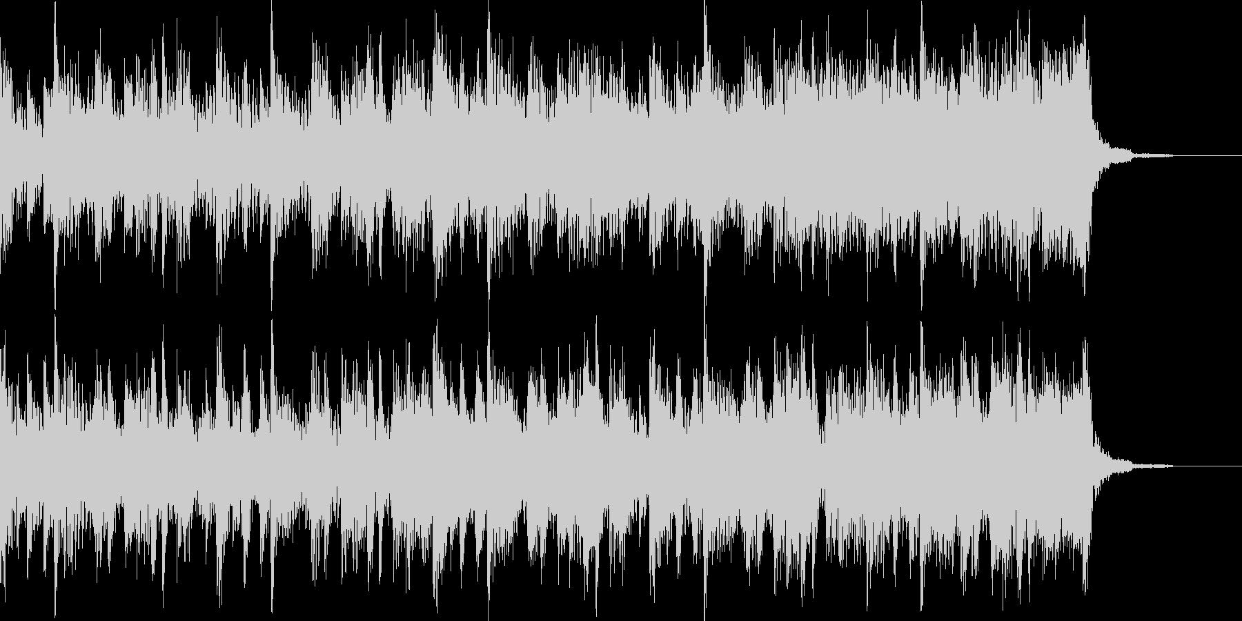 オープニングBGMの未再生の波形