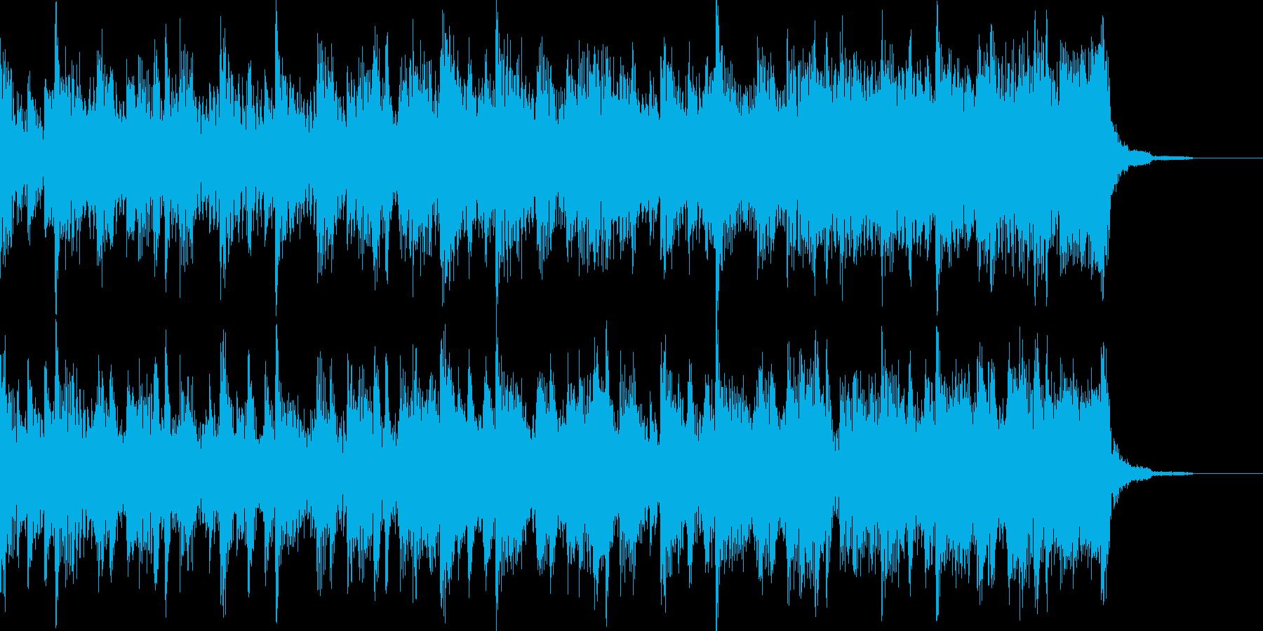 オープニングBGMの再生済みの波形