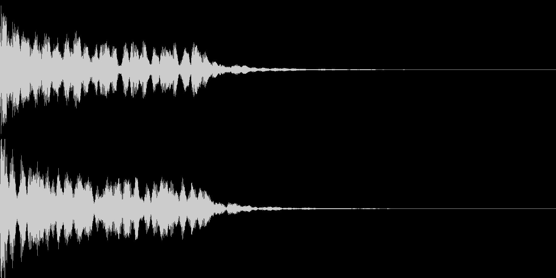 不思議な音06の未再生の波形