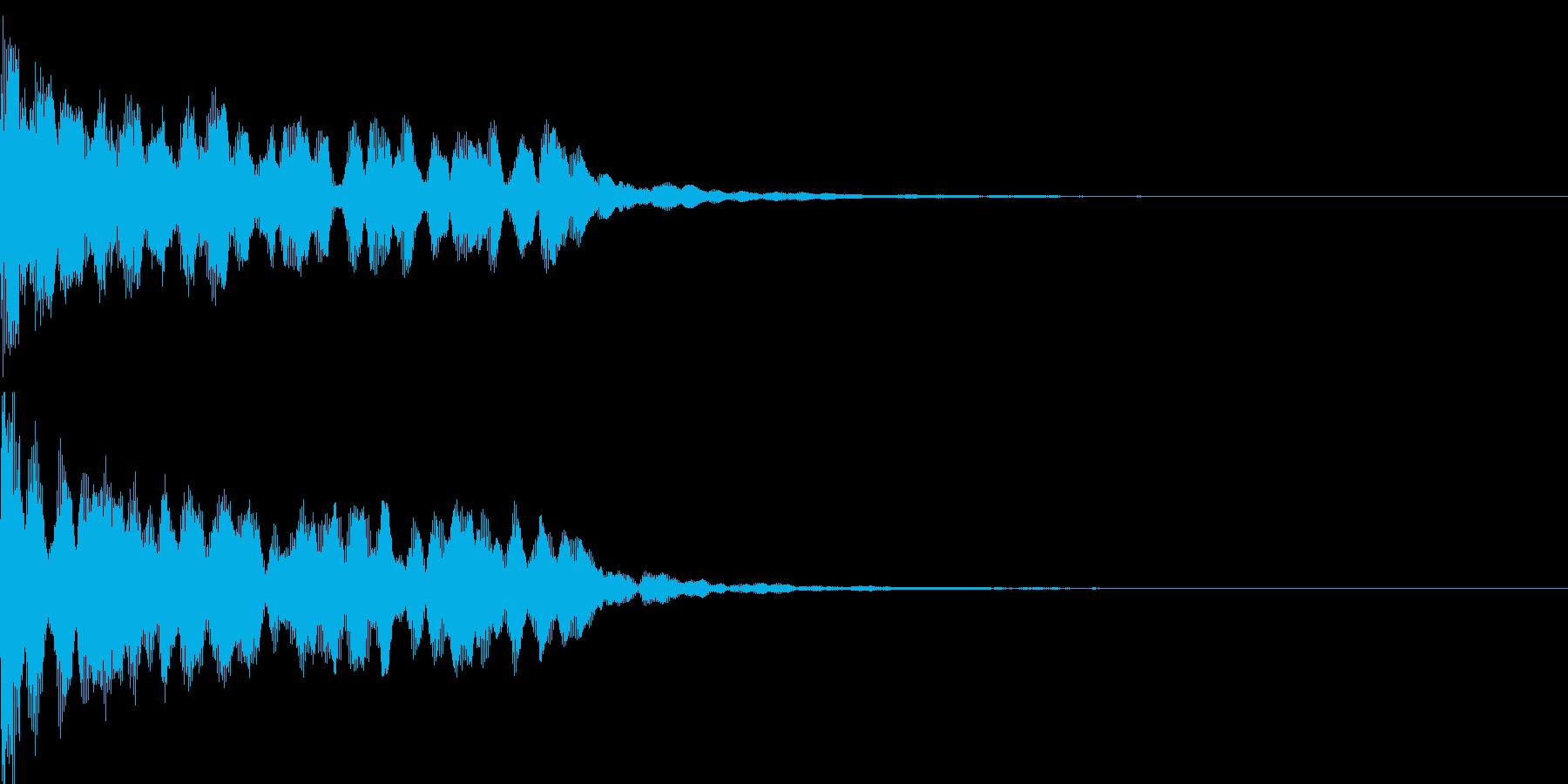 不思議な音06の再生済みの波形