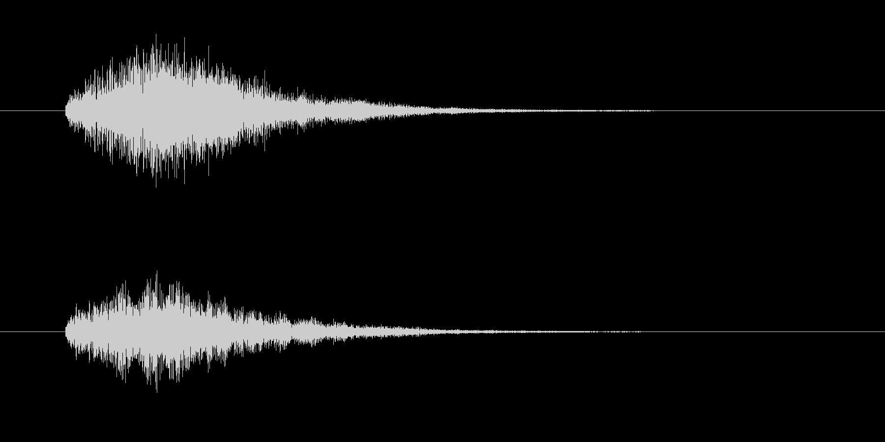 IT、コンピュータ系のサウンドロゴの未再生の波形