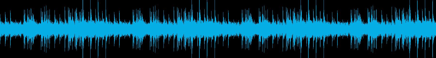 ハープの音色が切ない幻想的なBGMの再生済みの波形
