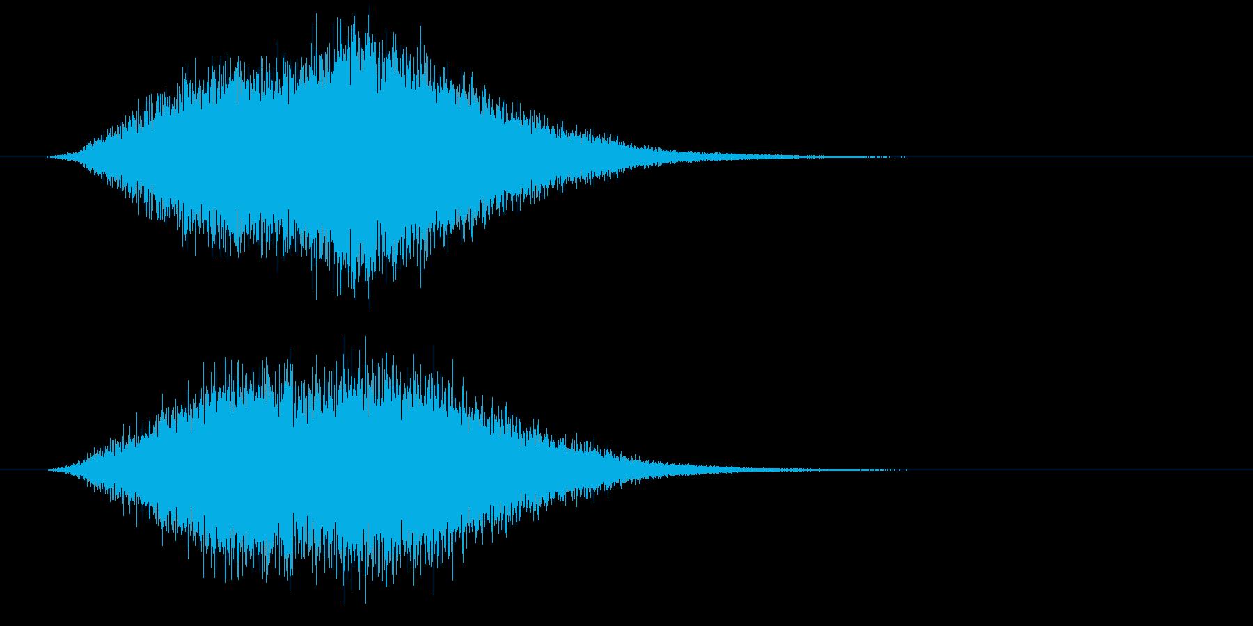 映画予告 CM用 オーケストラ音 壮大の再生済みの波形
