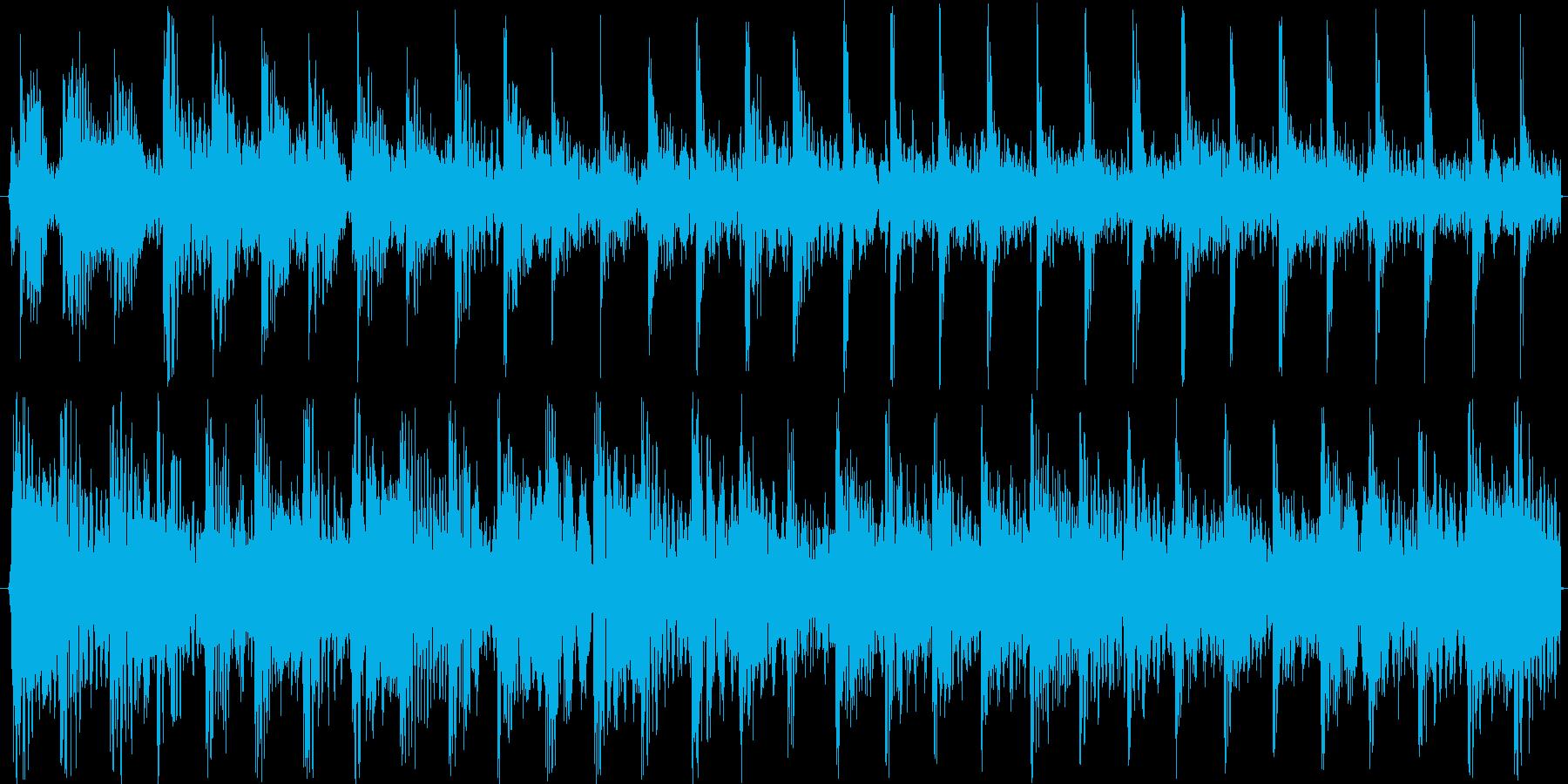 ミステリアスなサイエンスチックムード音楽の再生済みの波形