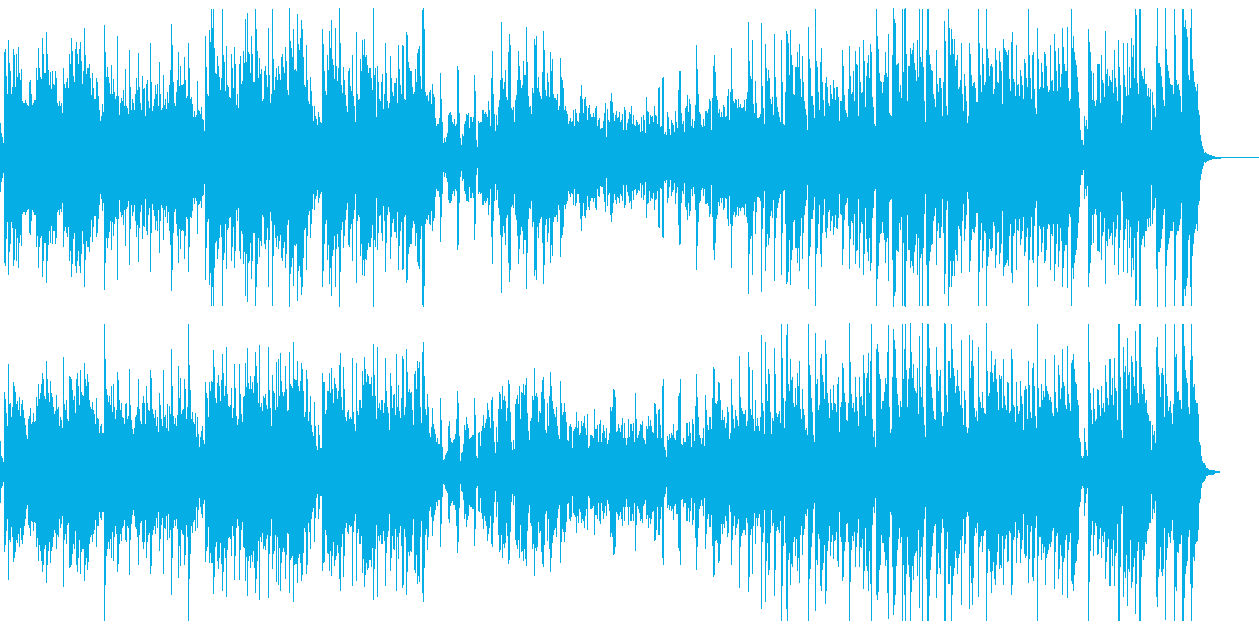 ヴィヴァルディ春のアンビエント&ファンクの再生済みの波形
