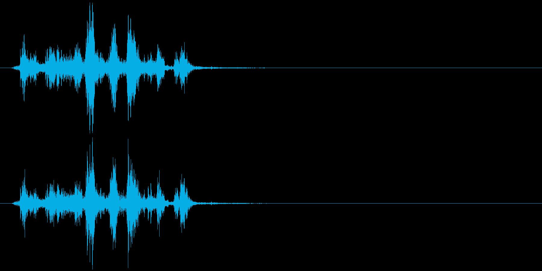 ガサゴソ(物を探すときの音、演出)の再生済みの波形