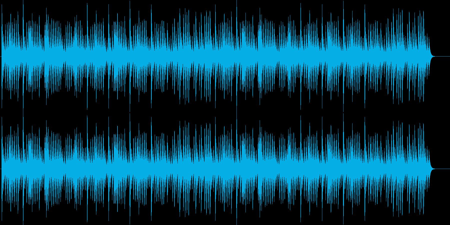 オルゴール・リラックス・癒し・思い出の再生済みの波形