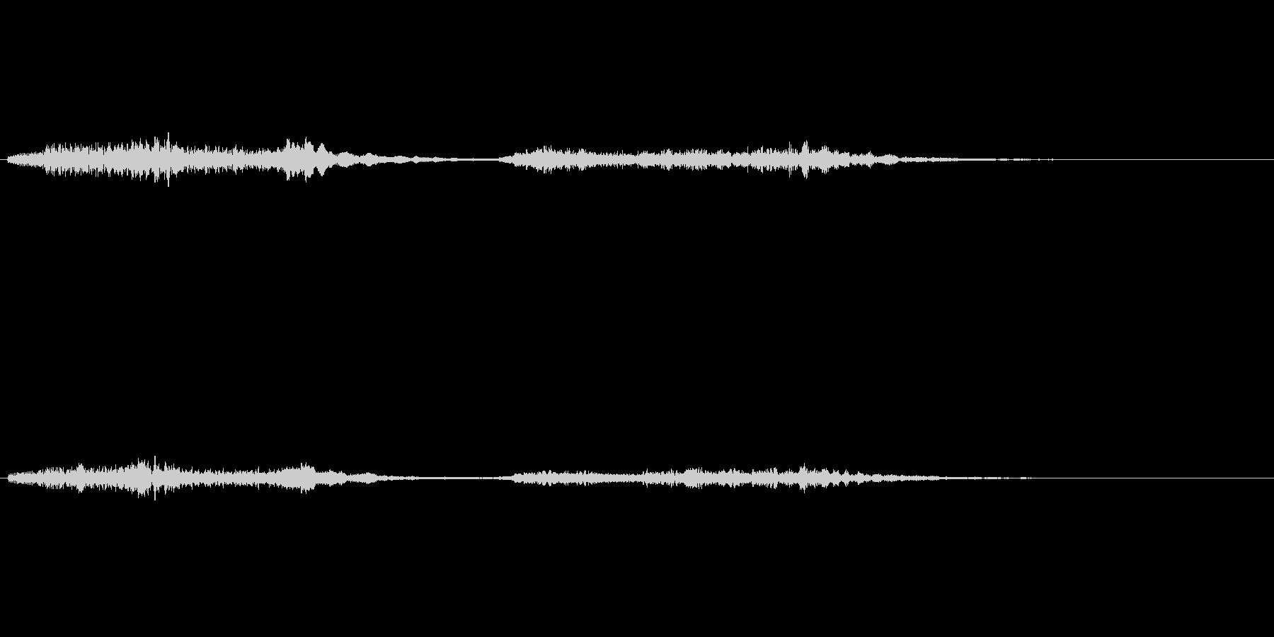 「バイオリンの綺麗なフレーズ」の未再生の波形