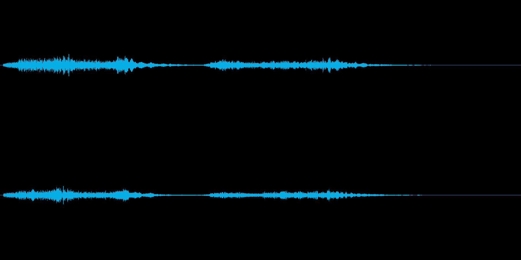 「バイオリンの綺麗なフレーズ」の再生済みの波形