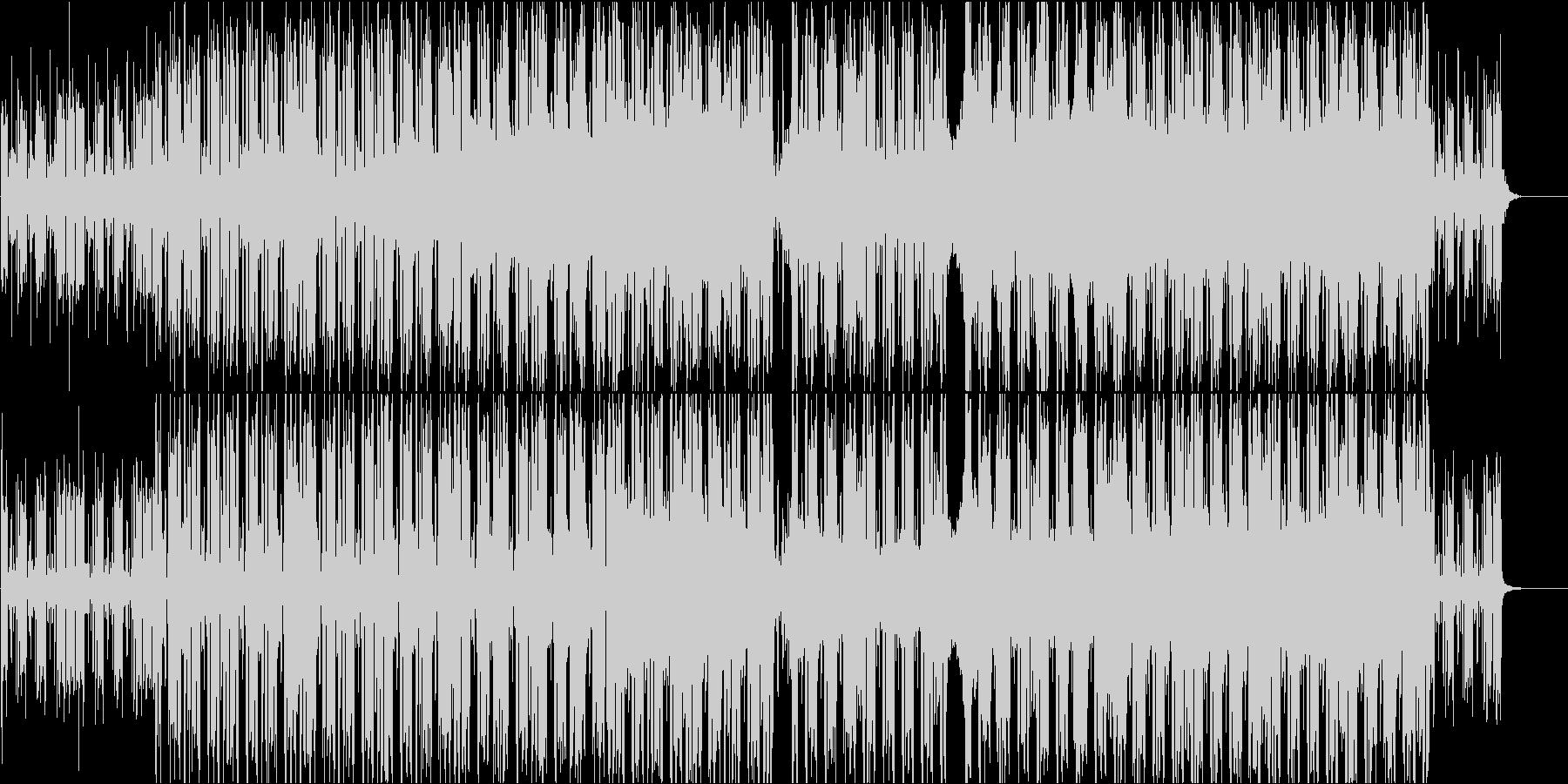 和風祭り風のメロディを持ったヒップホップの未再生の波形
