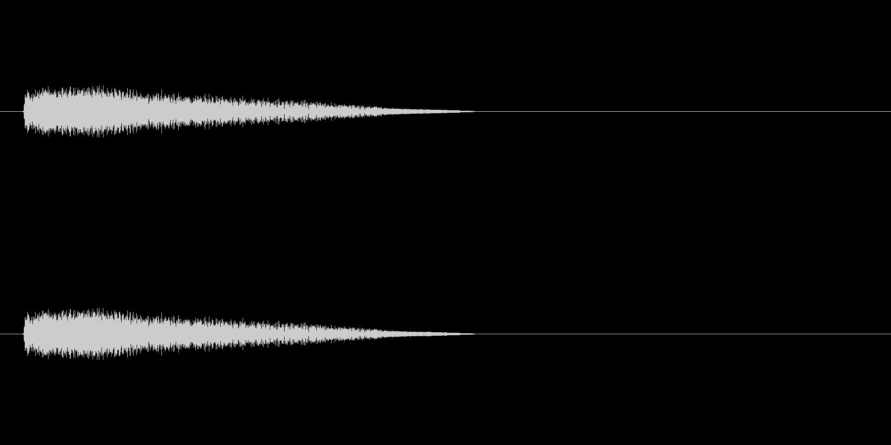 【ネガティブ03-3】の未再生の波形