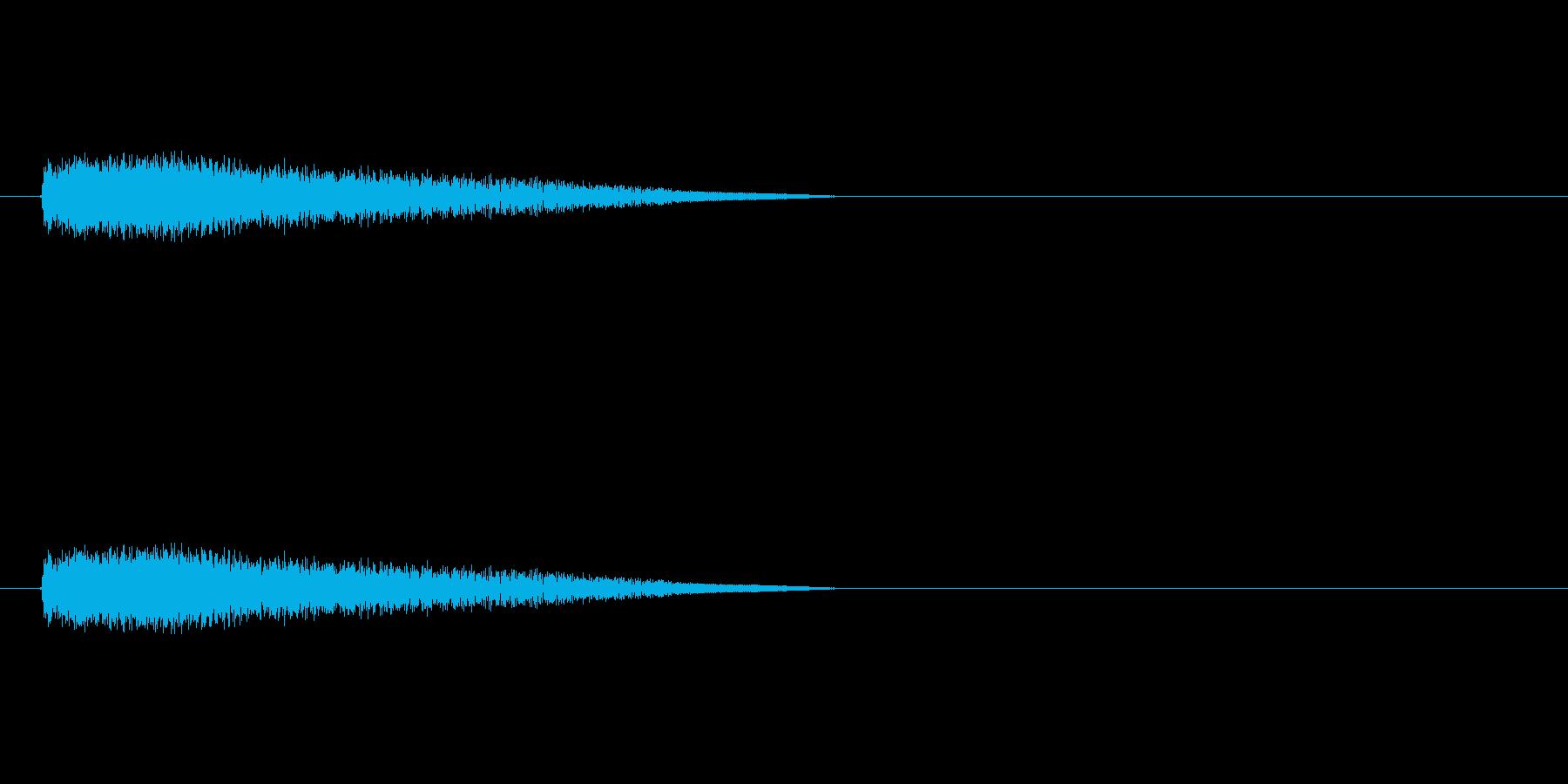 【ネガティブ03-3】の再生済みの波形