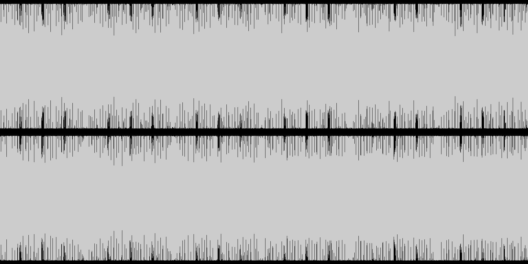 ピコピコキラキラテクノポップ-アップの未再生の波形