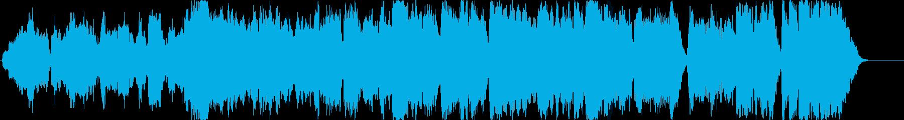 エンディング向き・蛍の光オーケストラ版の再生済みの波形