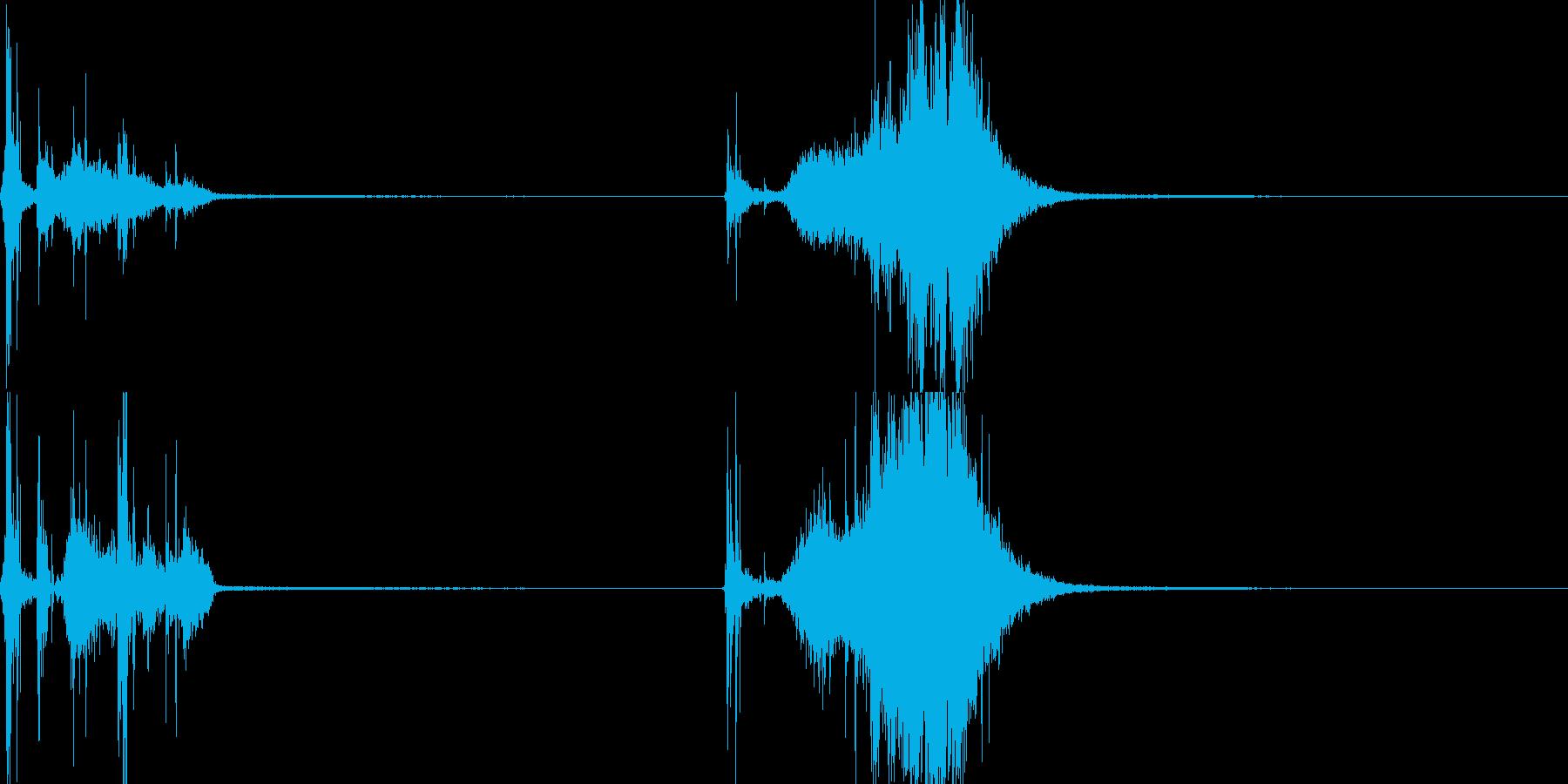 メジャー04(武器)の再生済みの波形