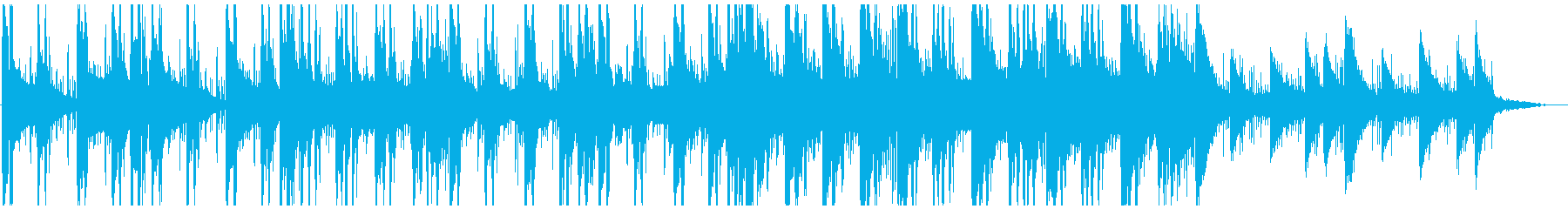 アドベンチャーゲーム向け研究所BGMの再生済みの波形