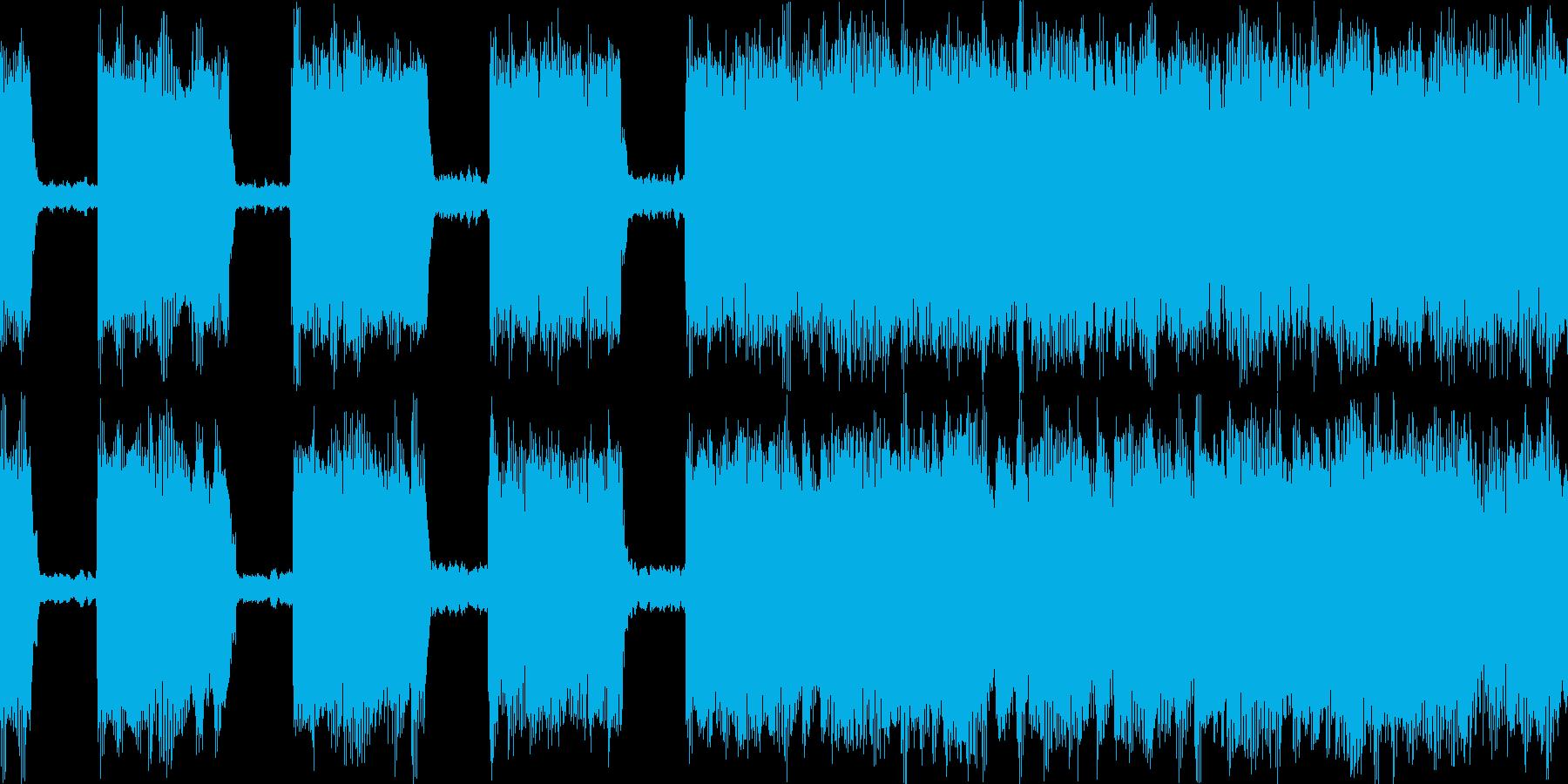 メタル 敵登場 ループの再生済みの波形