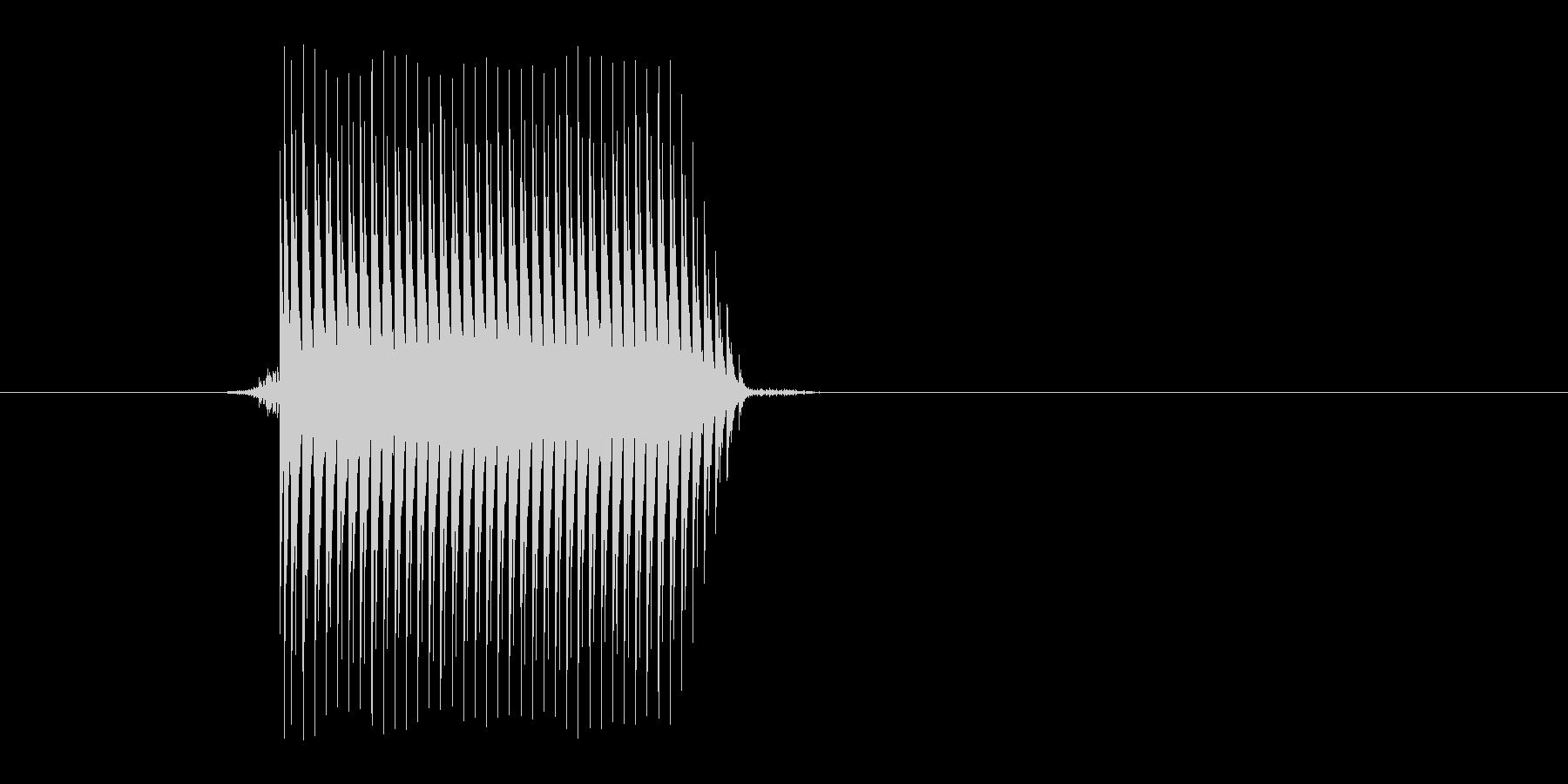 ゲーム(ファミコン風)セレクト音_032の未再生の波形