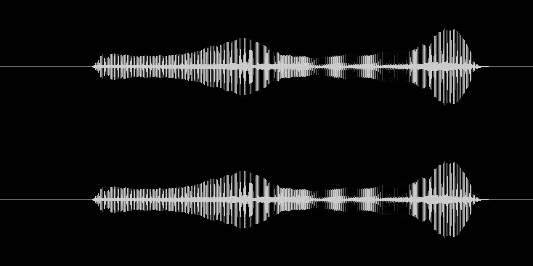 トロンボーンあるあるフレーズBPM120の未再生の波形