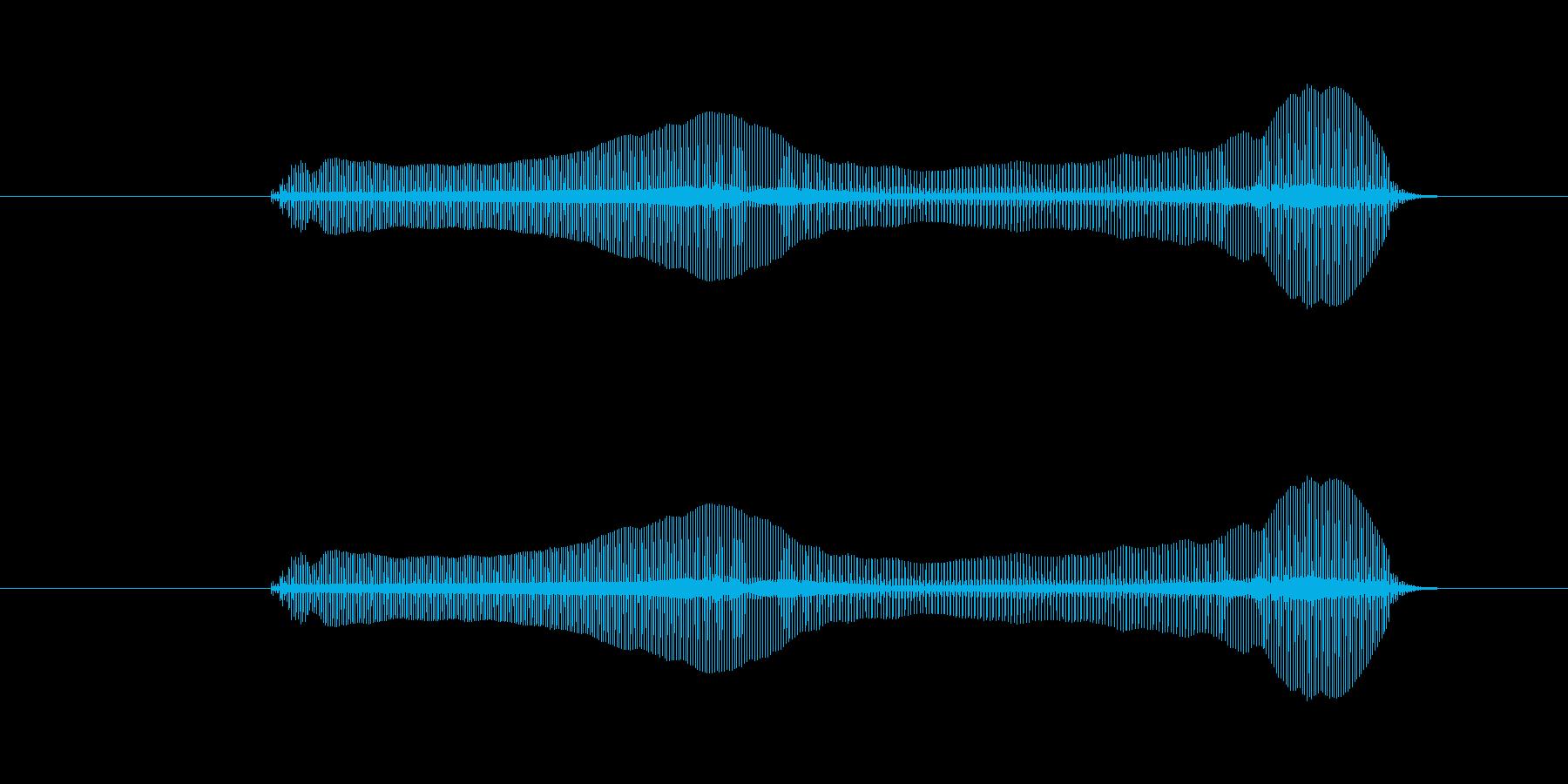 トロンボーンあるあるフレーズBPM120の再生済みの波形