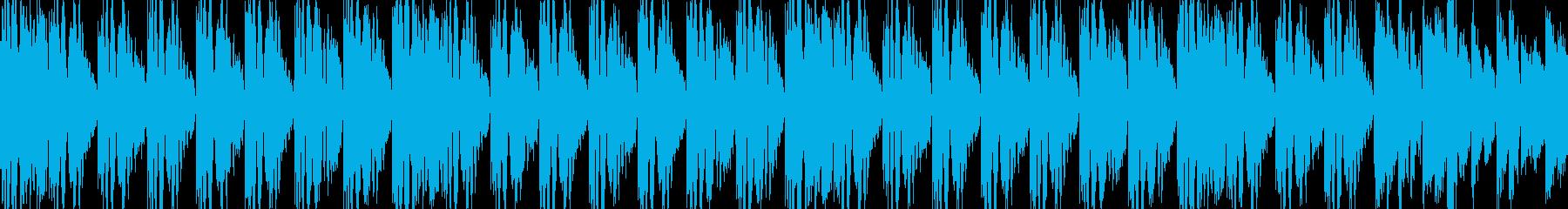 EDM ループの再生済みの波形