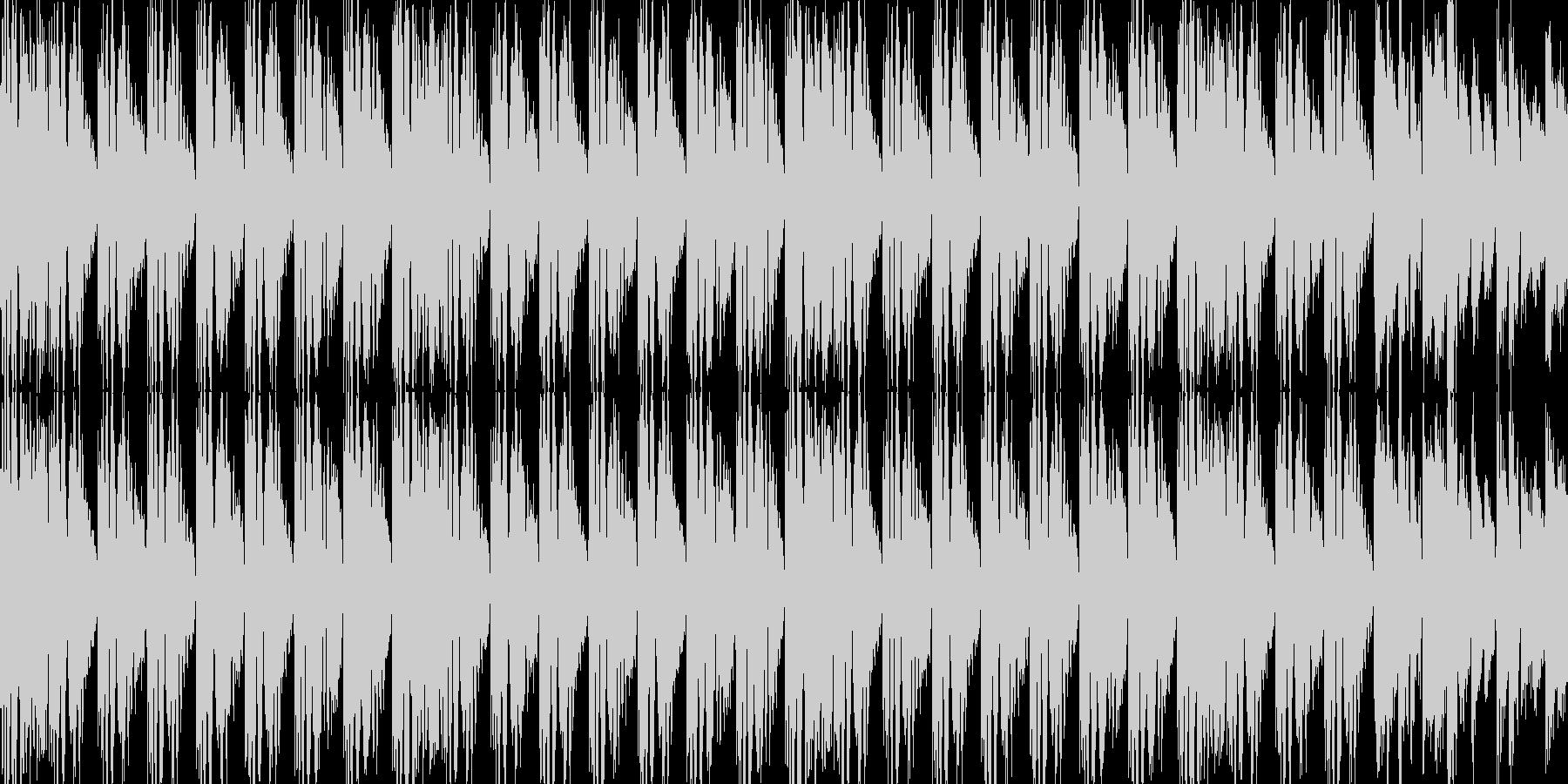 BGM01 EDM  15秒ループの未再生の波形