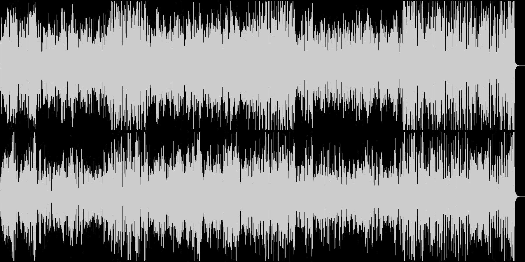 ピアノ名曲モーツアルト 上品であり軽快の未再生の波形