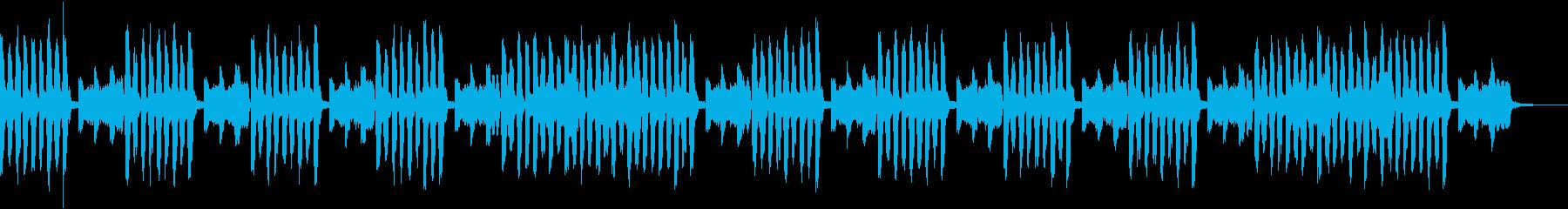 ペットのユーモラスな動きをイメージの再生済みの波形