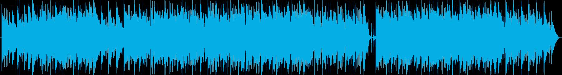 メロウな感じのインスト曲です。の再生済みの波形