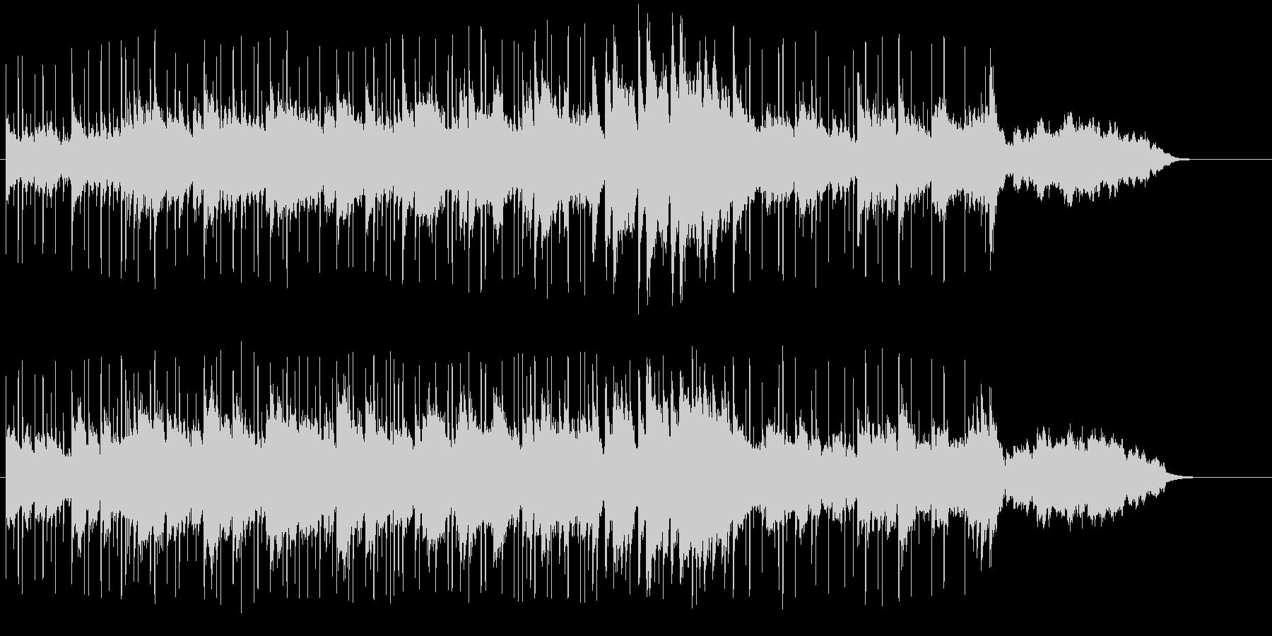 ハーバーが似合うロマンチックな音楽の未再生の波形