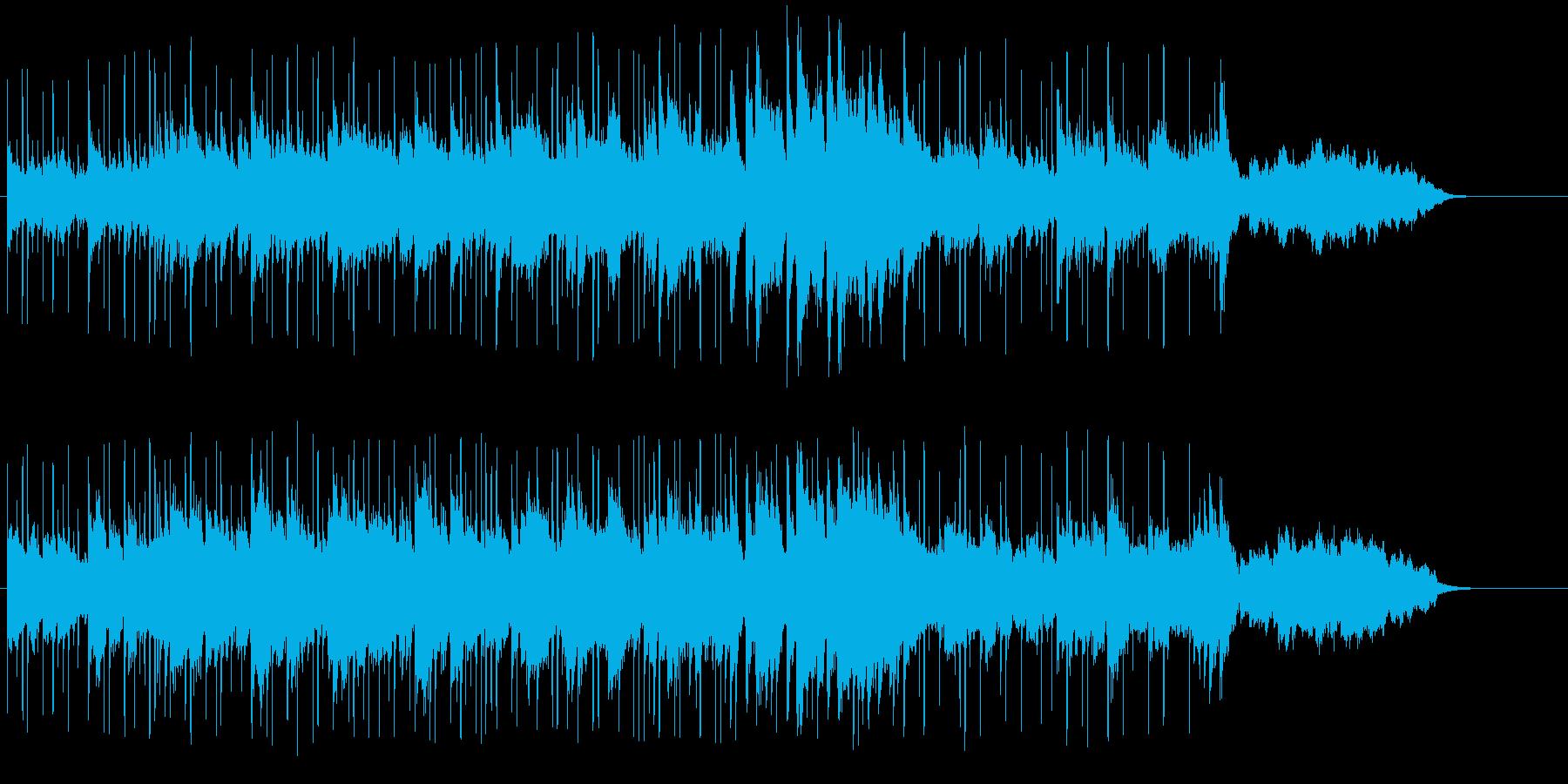 ハーバーが似合うロマンチックな音楽の再生済みの波形