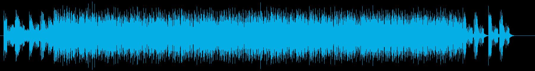 疾走感と宇宙感のドラムシンセサウンドの再生済みの波形