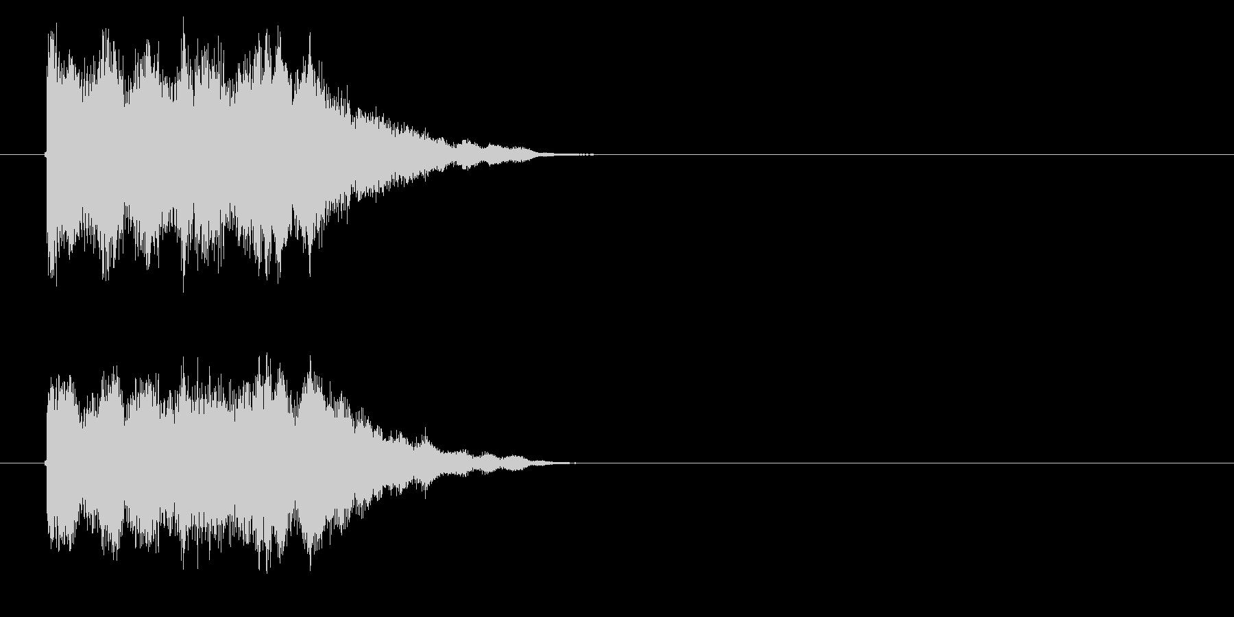 明るく華やかで幻想的なテクノポップの未再生の波形