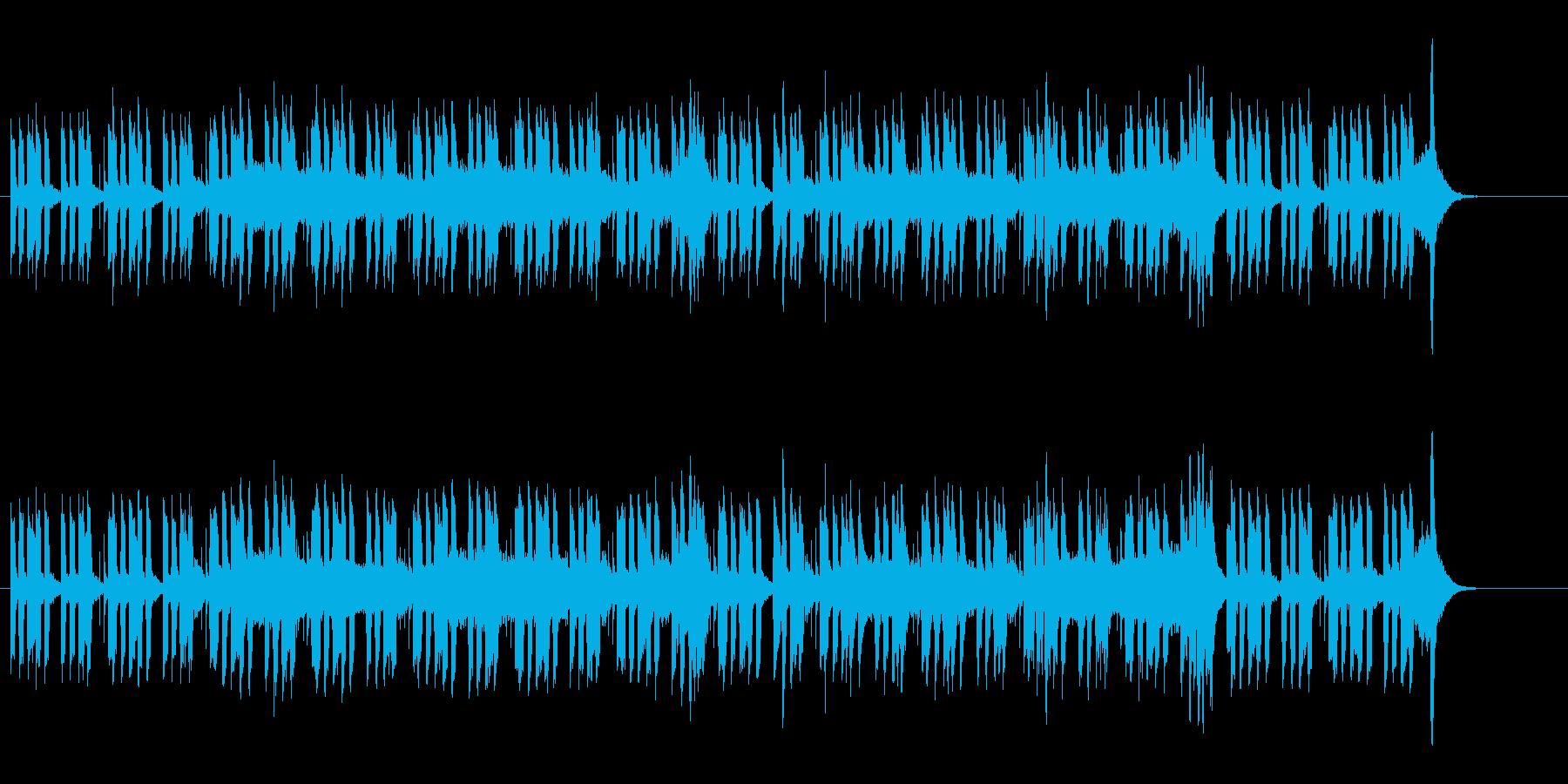 緊迫したドキュメント向けサウンドの再生済みの波形