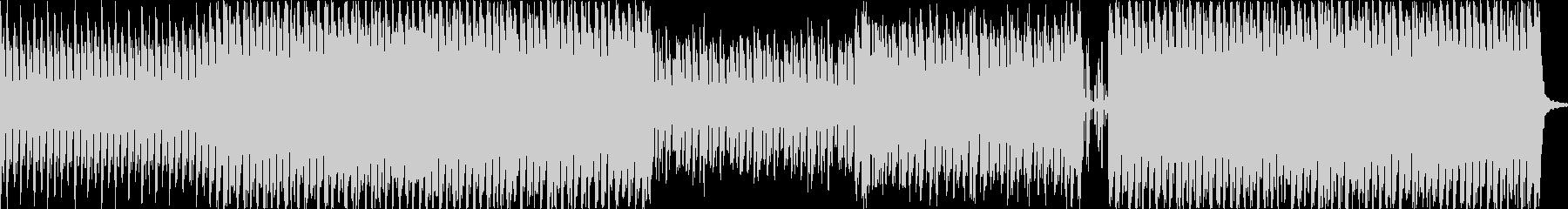 アラビアンなフレーズが印象的なBGMの未再生の波形