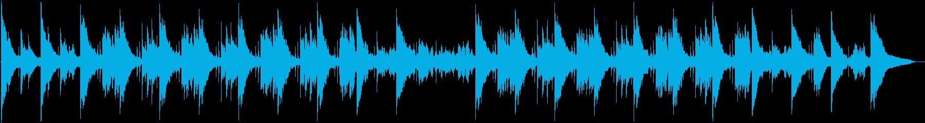幻想的でロマンチックなBGMの再生済みの波形