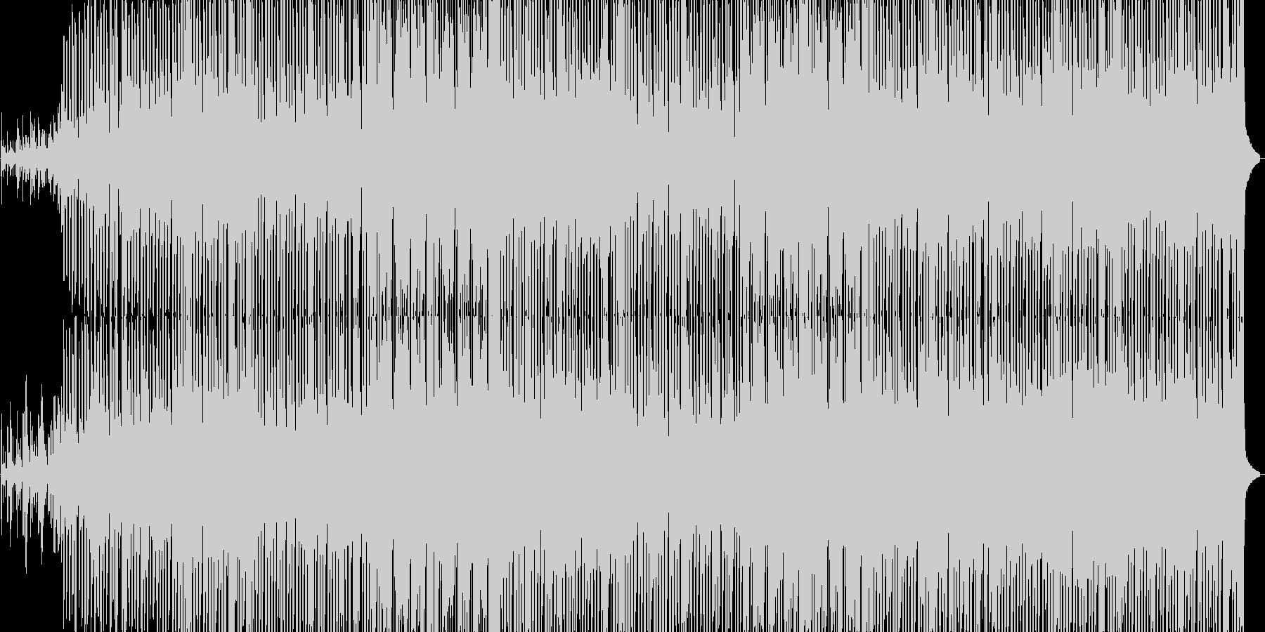 BAD END シンセ 暗いヒップホップの未再生の波形