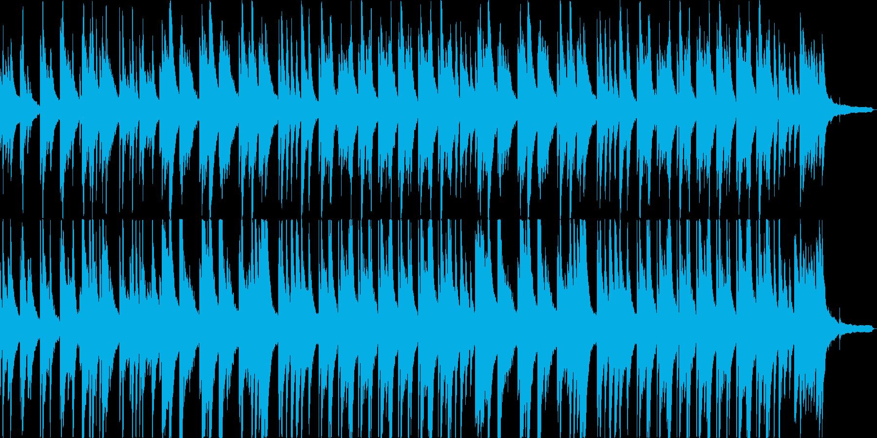 悲しみに包まれるピアノバラードの再生済みの波形