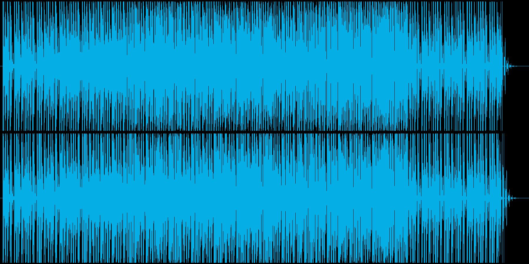 入場などに適したポップなエレクトロニカの再生済みの波形