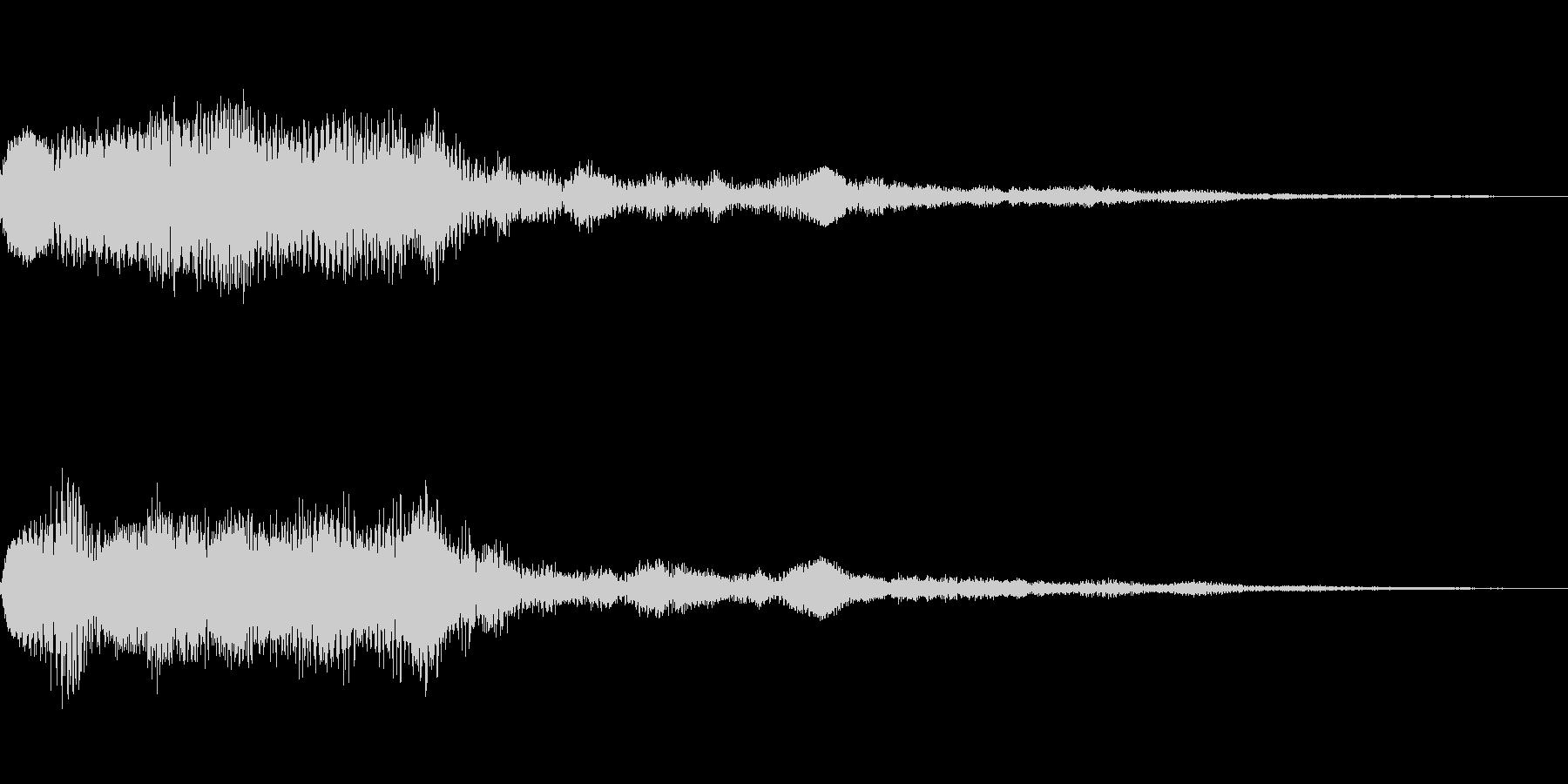 [ポロロン]リザルト(ピコピコ系)の未再生の波形